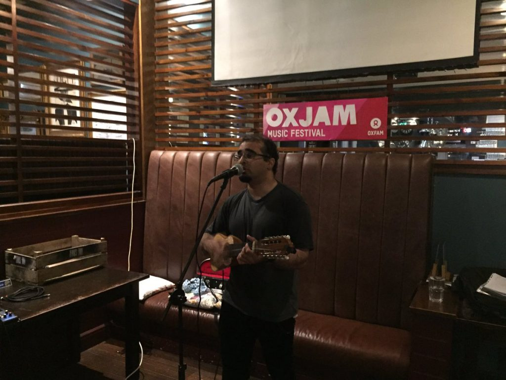 Oxjam Cambridge Takeover gig 2016