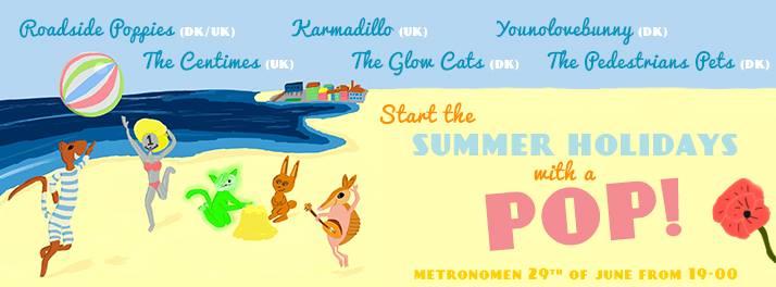 Summer of Pop - Copenhagen 2013 poster